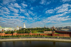 Great Kremlin Palace as viewed from the Moscow River. Great Kremlin Palace as viewed from the Moscow River, Russia royalty free stock image