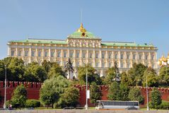 The Great Kremlin Palace Royalty Free Stock Photo