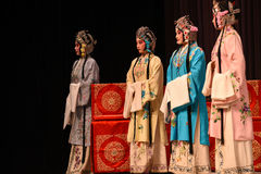 """Great lady- Beijing Opera"""" Women Generals of Yang Family"""". This opera tells a patriotic story how does an old woman of a hundred years old go out for Stock Images"""