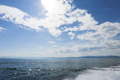 The great lake Baikal, Russia Royalty Free Stock Photos