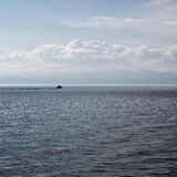 The great lake Baikal, Russia Royalty Free Stock Image