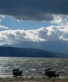 Great Lake Prespa, Macedonia Royalty Free Stock Photography