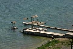 Great Lake Prespa, Macedonia Royalty Free Stock Photos