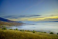 Great lake Prespa, Macedonia Royalty Free Stock Image