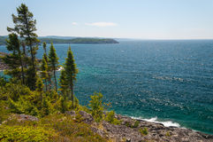 Great Lake Superior Stock Images