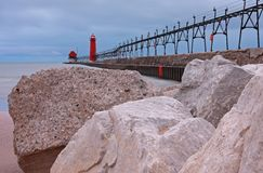 Great Lakes beach Stock Photos