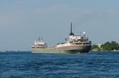 Great Lakes Cargo Ship Stock Photo