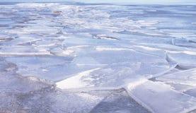 Great Lakes Eis Lizenzfreie Stockbilder