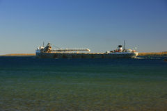Great lakes freighter Royalty Free Stock Photography