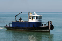 Great Lakes Work Boat Stock Photography