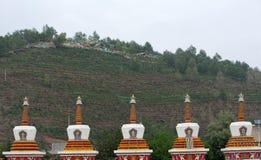 Great Lamasery of Kumbum Ta er Lamasery Royalty Free Stock Image