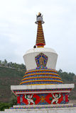 Great Lamasery of Kumbum Ta er Lamasery Stock Image