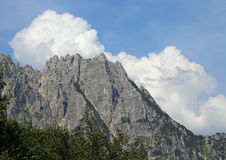 Great landscape of italian mountains called Venetian Prealps. Landscape of italian mountains called Venetian Prealps in the province of Vicenza in Italy Stock Photography