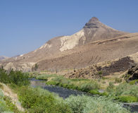 Great landscape from road to John Day Fossil Beds Stock Photography