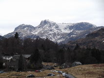 Great Langdale Stock Image