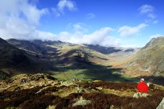 The Great Langdale Fells Stock Photography