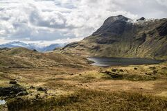 Great Langdale Valley Royalty Free Stock Photos