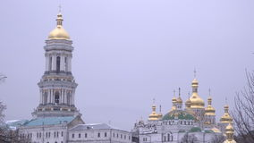 The Great Lavra Bell Tower or the Great Belfry stock video
