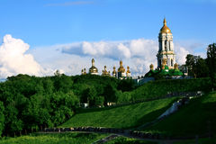The Great Lavra Belltower Stock Images