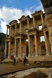 The Great Library of Ephesus Stock Photo