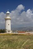 Great Lighthouse in Paphos, Cyprus in the spring Stock Photography