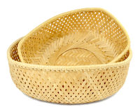 Great little wicker basket Royalty Free Stock Images