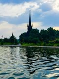 St Mina Church royalty free stock image