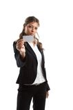 Great looking business woman Royalty Free Stock Image