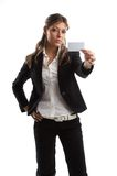 Great looking business woman Stock Images