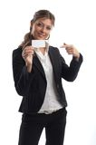 Great Looking Business Woman Royalty Free Stock Images