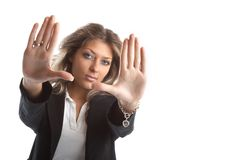 Great looking business woman Royalty Free Stock Photos