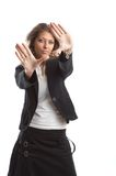 Great looking business woman Stock Photo