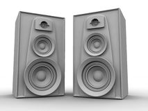 Great loud speakers Royalty Free Stock Photo