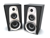Great loud speakers. Stock Photography