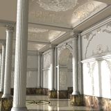 Great Luxury Hall Stock Photos
