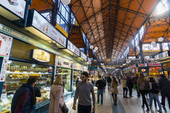 Great Market Hall, Budapest Stock Images