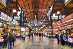 Great Market Hall - Budapest, Hungary Stock Photo