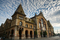 The Great Market Hall in Budapest, Hungary.  Stock Photos