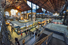 Great Market Hall, Budapest Stock Photography