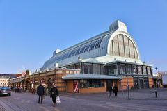 Great Market Hall in Gothenburg Stock Images