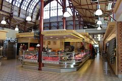 Great Market Hall in Gothenburg Royalty Free Stock Photo