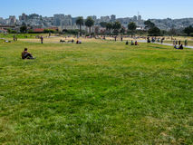 Great Meadow Park, San Francisco Royalty Free Stock Images