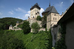 Great medieval castle Royalty Free Stock Photos