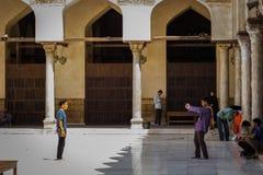 Great memory in Azhar mosque Stock Image