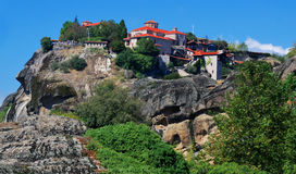 Great Meteor Monastery, Greece Royalty Free Stock Photography