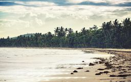 Great Mission Beach in Queensland Royalty Free Stock Images
