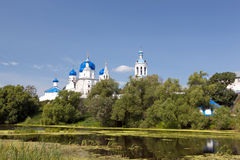 Great monasteries of Russia. Bogolubovo Royalty Free Stock Photos