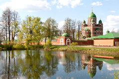 Great monasteries of Russia. Borodino Stock Images