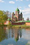 Great monasteries of Russia. Borodino Royalty Free Stock Photography