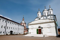 Great monasteries of Russia. Borovsk Stock Image